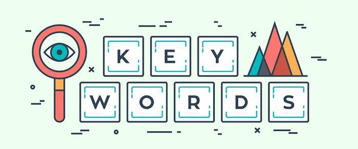 keywords in images